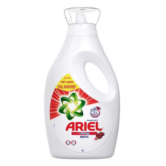 nước giặt ariel 2