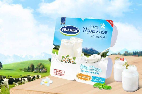 sữa chua vinamilk 3